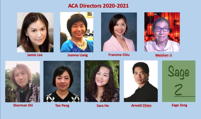 ACA 2020-2021 Board Directors